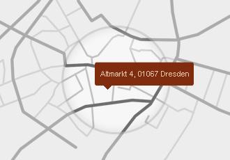 Anfahrt Altmarktcafé Dresden